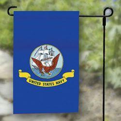 Navy Garden Banner