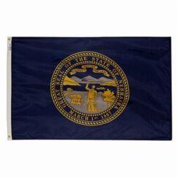 State-Tex Commercial Grade Nebraska State Flag - 5 ft X 8 ft