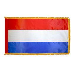 Indoor/Parade Nylon Netherlands Flag - 3 ft X 5 ft
