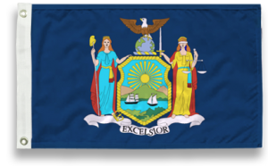State-Tex Commercial Grade New York State Flag - 4 ft X 6 ft