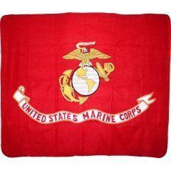 USMC Fleece Blanket