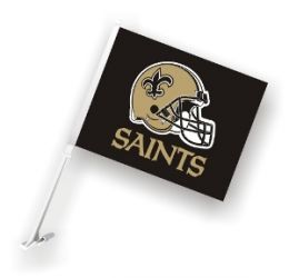 New Orleans Saints Rectangular - Car Flag