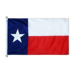 Nylon Texas State Flag - 15 ft X 25 ft