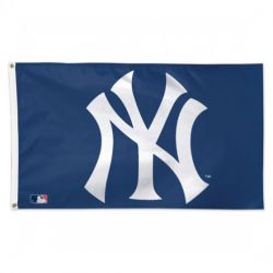 Deluxe Blue New York Yankees Flag - 3 ft X 5 ft