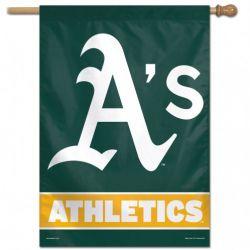Oakland A's Vertical Flag