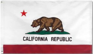 State-Tex Commercial Grade California State Flag - 3 ft X 5 ft