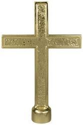 Cross Indoor Flagpole Ornament