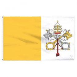 Papal Flag - 3 ft X 5 ft