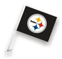 Pittsburgh Steelers - Car Flag