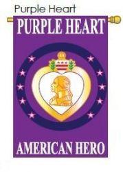 Purple Heart American Hero Banner
