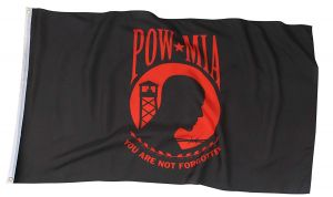 Red POW/MIA Flag