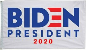Joe Biden 2020 Premium Flag - White
