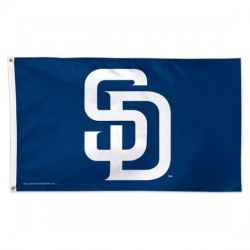Deluxe San Diego Padres Flag - 3 ft X 5 ft