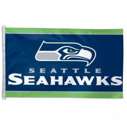 Seattle Seahawks Flag - 3 ft X 5 ft