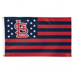 St. Louis Cardinals Stars and Stripes Flag