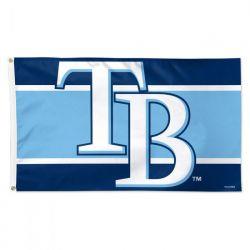 Tampa Bay Rays Stripe Flag - 3 ft X 5 ft
