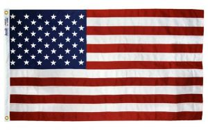 Tough-Tex Heavy Duty American Flag - With Grommets - 5 ft X 8 ft