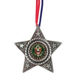 U.S. Army Metal Star Ornament