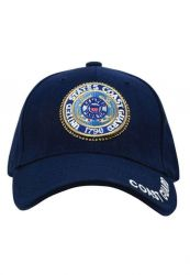 U.S. Coast Guard Deluxe Low Profile Insignia Cap