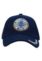 U.S. Coast Guard Deluxe Low Profile Insignia Cap