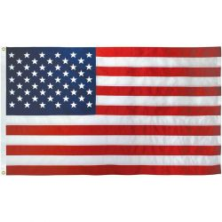 All-American All-Weather Nylon American Flag - 12 in X 18 in