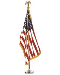 Colonial Nyl-Glo Indoor U.S. Flag Set