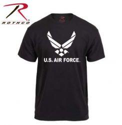 USAF Black Logo T-Shirt