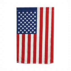 US Flag Garden Banner