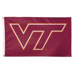 Premium Virginia Tech Flag - 3 ft X 5 ft