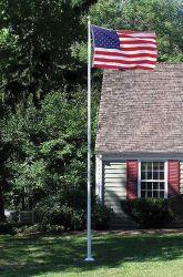 Villager III Residential Fiberglass Flagpole - 20 ft