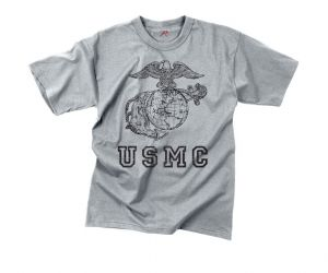 Vintage USMC Globe & Anchor T-Shirt