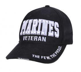Deluxe Marines Veteran Low Profile Cap