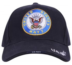 Deluxe Official U.S. Navy Logo Low Profile Cap