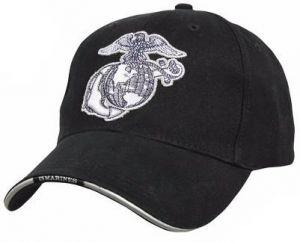 Deluxe U.S.M.C. G & A Low Profile Insignia Cap w/ Marines Backstrap