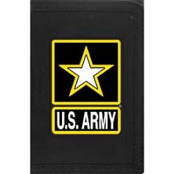 Heavy Duty U.S. Army Nylon Wallet