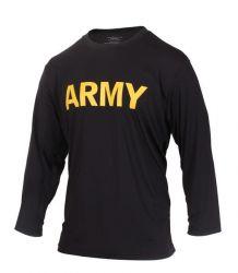 Long Sleeve Army PT Shirt
