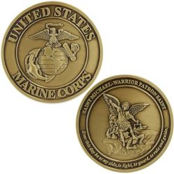 Marine Corps Coin: Saint Michael - Warrior Patron Saint