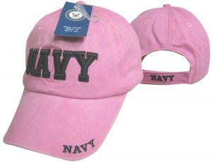 Pink US Navy Cap