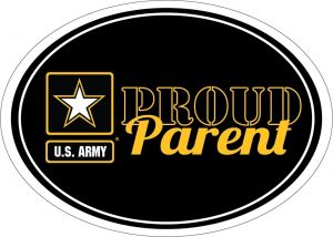 Proud Parent Army Star Magnet