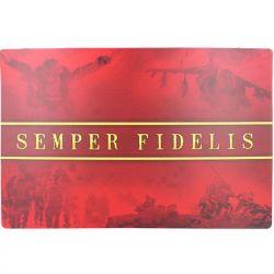 Semper Fidelis Chow Mat