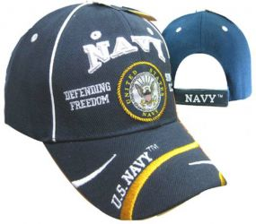 U.S. Navy Defending Freedom Cap