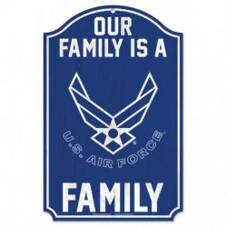 US Air Force Family Sign