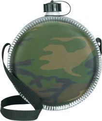 Woodland Camo 2 QT Military Canteen