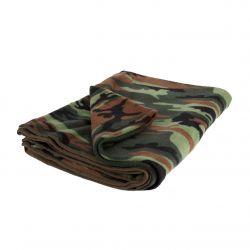 Woodland Camo Fleece Blanket