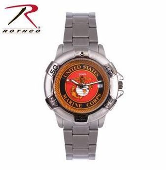 USMC Emblem Quartz Watch