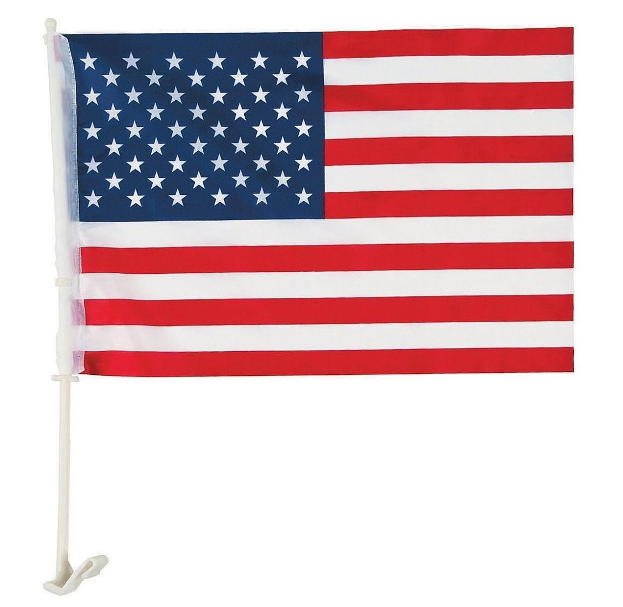 American Car Flags for Window - Quick Shipping