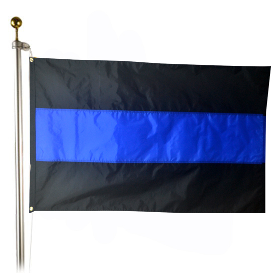 AmericanFlags.com debuts Thin Blue Line Flags
