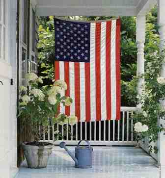 Decorating Your Home With American Flags