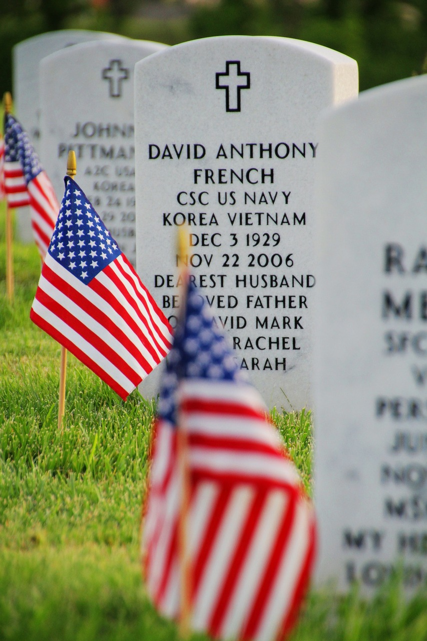 Honoring Our Fallen: The American Flag Presentation
