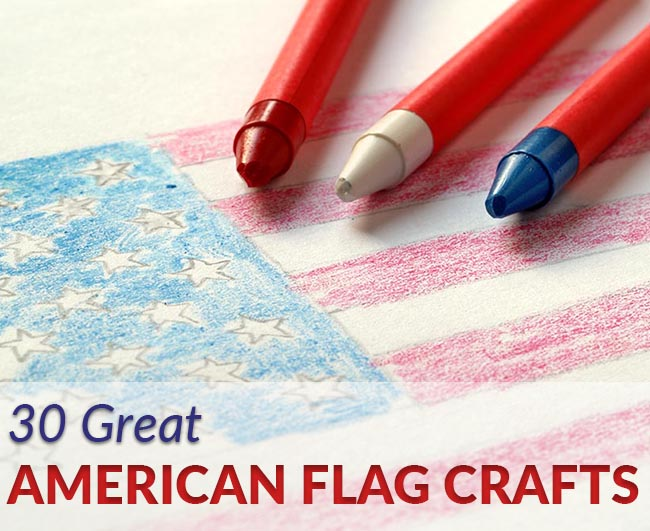 crayons-and-american-flag-drawing